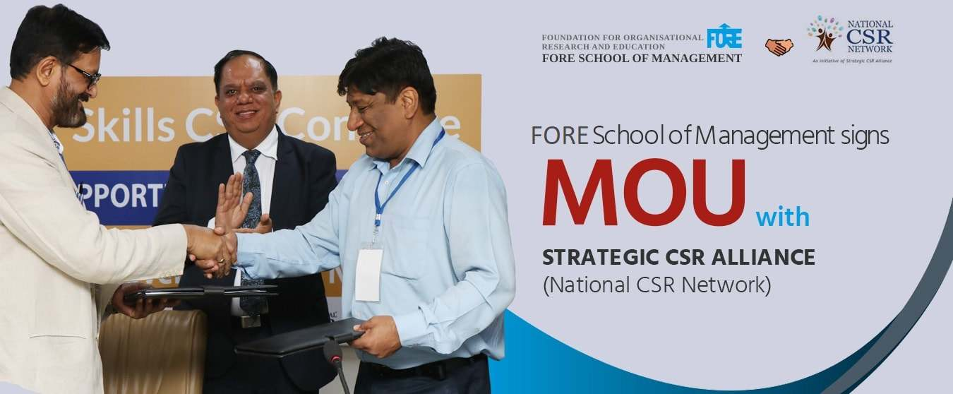 Fore School of Management Strategic CSR Alliance