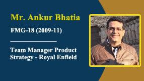 Mr Ankur Bhatia